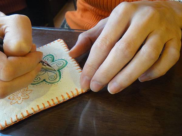 》小sa手繪杯墊圖案設計繪製(2)