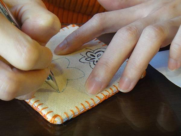 》小sa手繪杯墊圖案設計繪製(1)