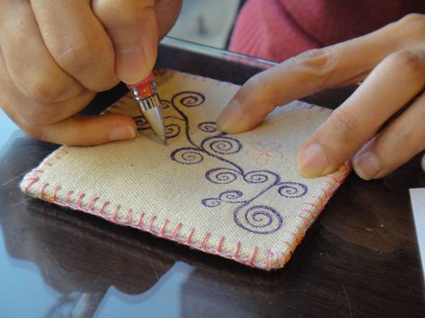 》Lisa手繪杯墊圖案設計繪製(3)