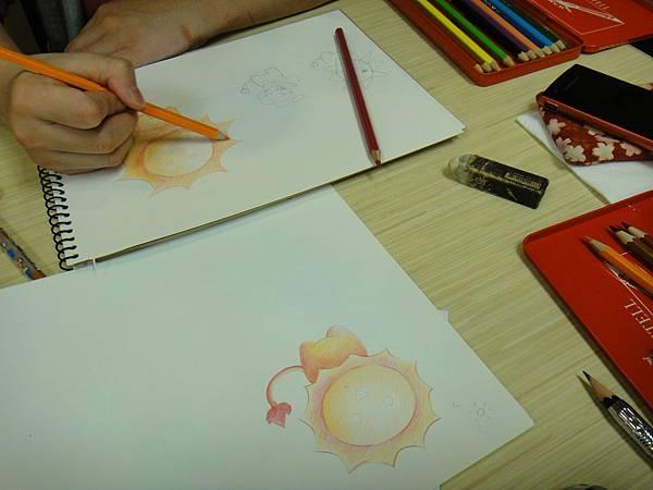 》動物園裏的可愛動物畫法(光影上色練習)(2)