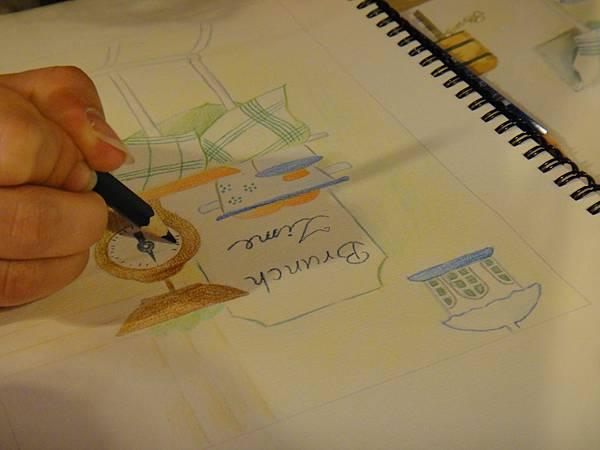 》學生色鉛全景混色畫練習(7)