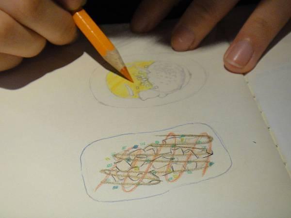 》學生色鉛筆記用圖示畫練習(6)