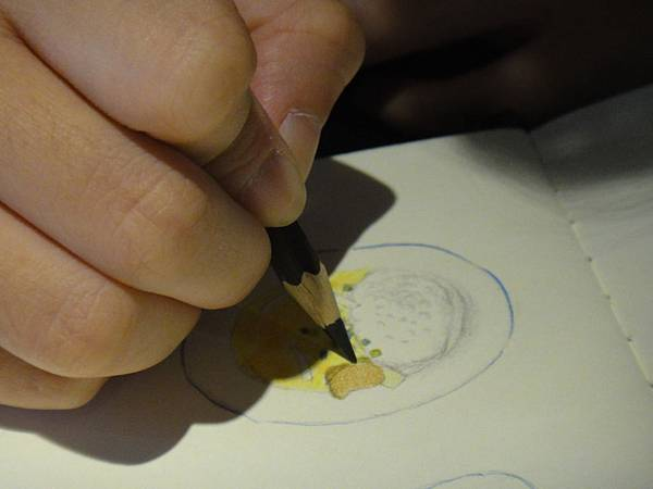 》學生色鉛筆記用圖示畫練習(8)