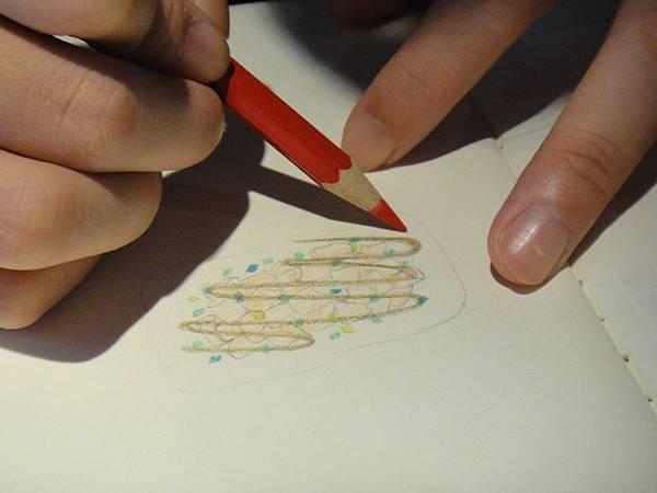 》學生色鉛筆記用圖示畫練習(3)