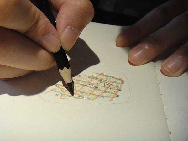 》學生色鉛筆記用圖示畫練習(5)