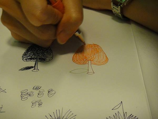 》學生鋼珠筆光影上色練習(2)