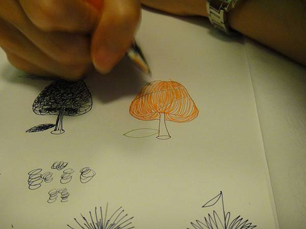》學生鋼珠筆光影上色練習(1)