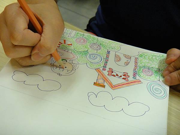 》學生鋼珠筆全畫構成練習(6)