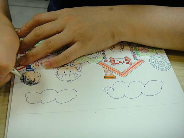 》學生鋼珠筆全畫構成練習(7)