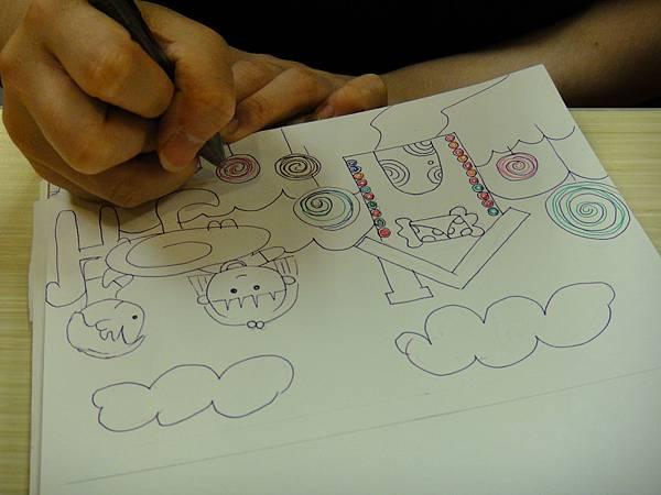 》學生鋼珠筆全畫構成練習(3)