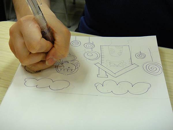 》學生鋼珠筆全畫構成練習(1)