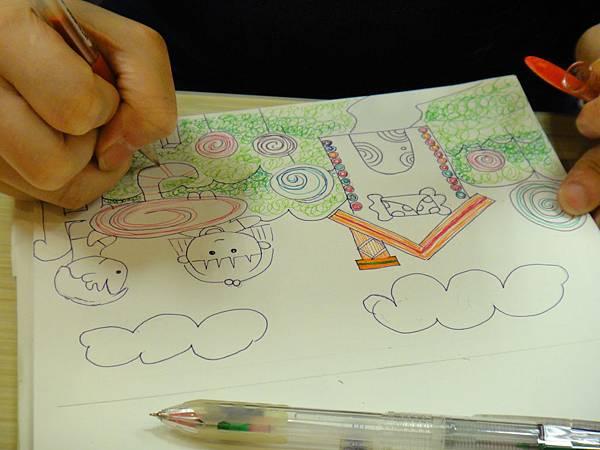 》學生鋼珠筆全畫構成練習(5)