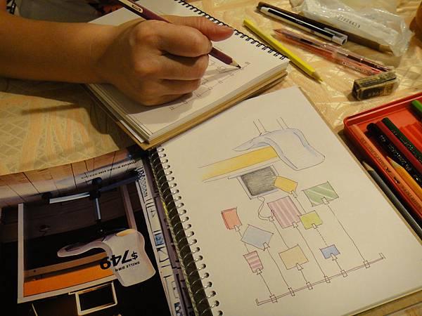 》學生物品家具立體畫練習(5)