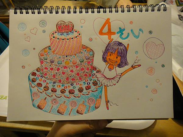 》學生甜品+Q版人作業