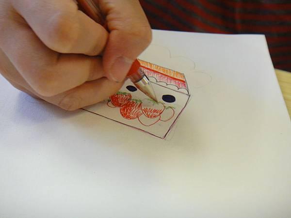 》學生鋼珠筆甜品畫練習(5)