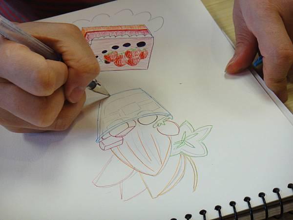 》學生鋼珠筆甜品畫練習(8)
