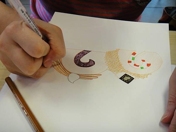 》學生鋼珠筆甜品畫練習(2)