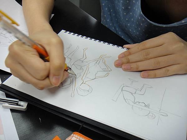 》學生人體姿勢動作練習(2)