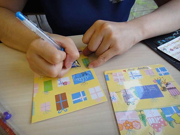 》學生美術紙創作畫體驗(1)_媽媽