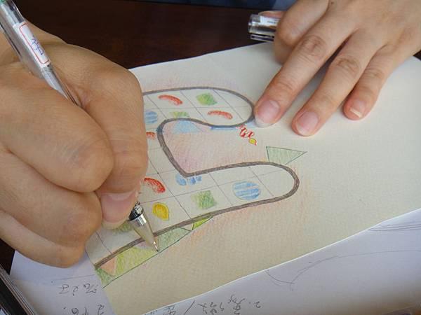 》學生生日卡片繪製過程(10)