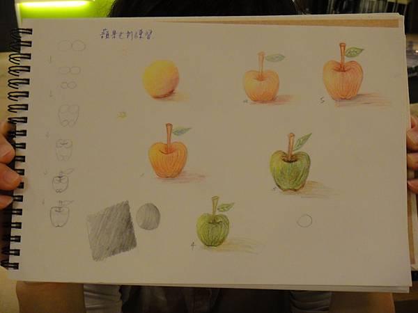》學生色鉛光影上色練習(4)