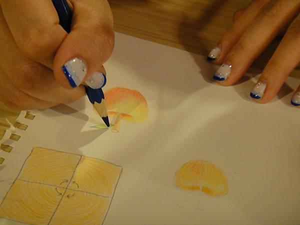 》學生色鉛光影上色練習(3)