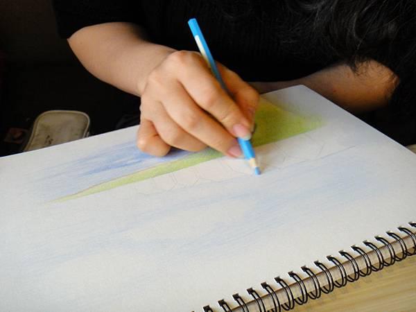 》學生色鉛風景畫練習(6)