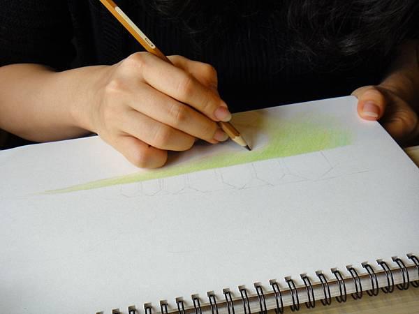 》學生色鉛風景畫練習(3)