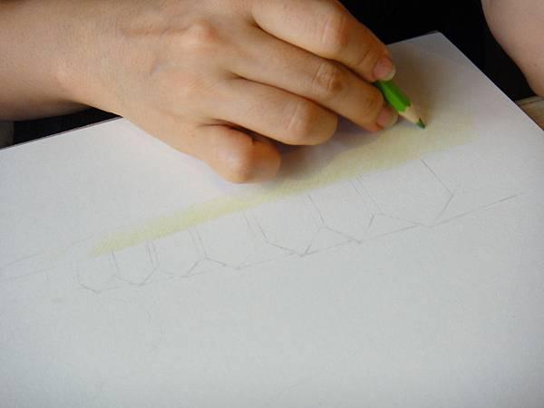 》學生色鉛風景畫練習(2)