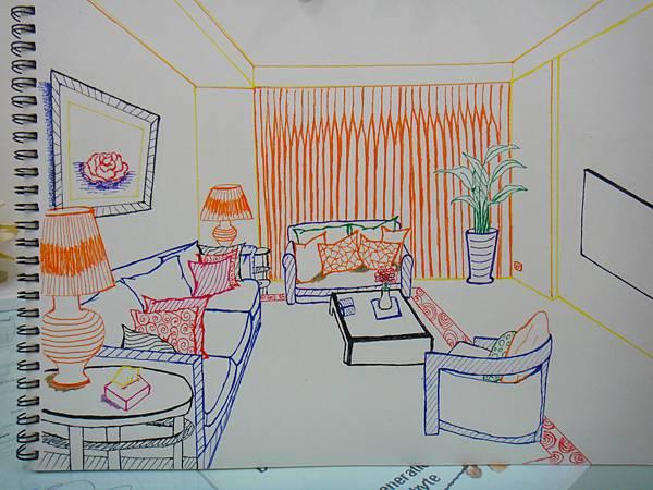 》學生室內空間練習作業