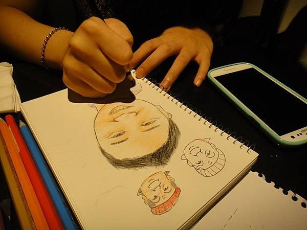 》學生人像畫練習(5)