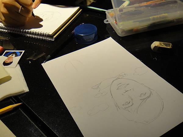 》學生人像(大頭小身體)畫法練習(1)