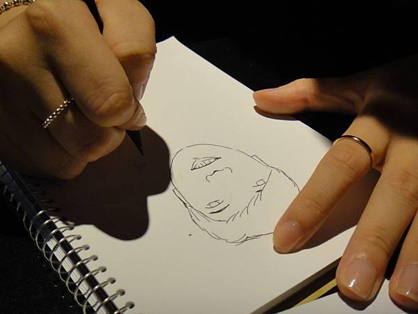 》學生人像(大頭小身體)畫法練習(2)