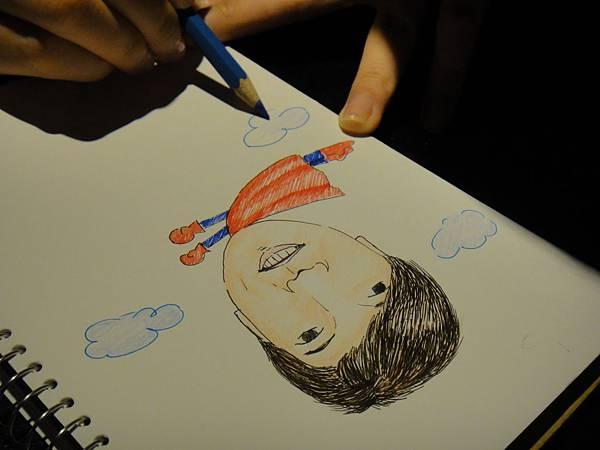 》學生人像(大頭小身體)畫法練習(7)