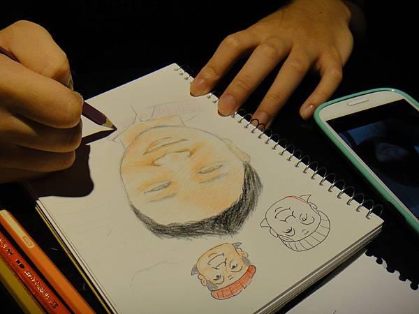 》學生人像畫練習(4)