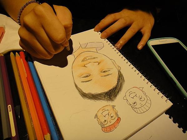 》學生人像畫練習(6)