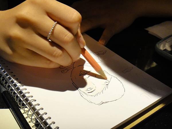 》學生人像(大頭小身體)畫法練習(4)
