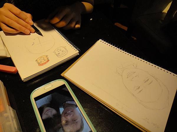》學生人像畫練習(1)