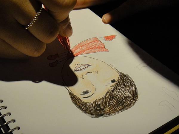 》學生人像(大頭小身體)畫法練習(5)