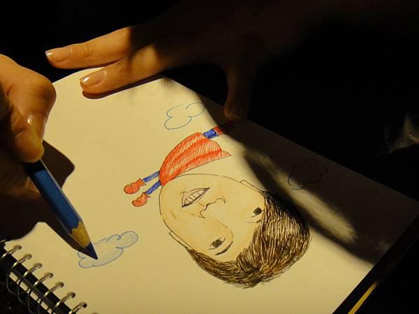 》學生人像(大頭小身體)畫法練習(6)