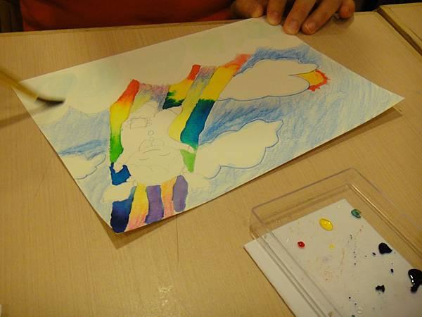 》學生色鉛+彩色墨水+鋼珠筆畫練習(3)