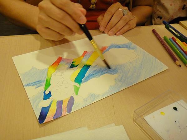 》學生色鉛+彩色墨水+鋼珠筆畫練習(2)