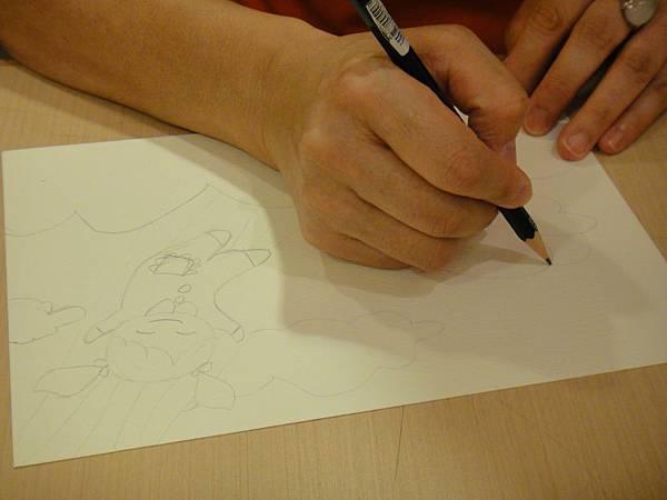 》學生色鉛+彩色墨水+鋼珠筆畫練習(1)