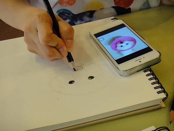 》學生色鉛畫寵物_練習(4)