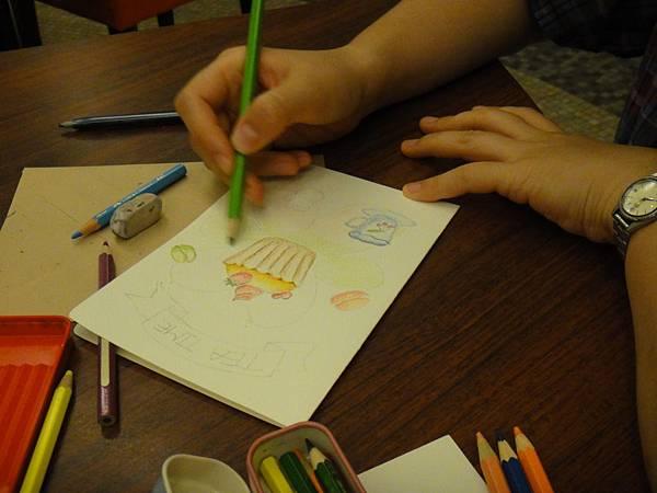 》學生淡彩卡片製作(Amber)-3