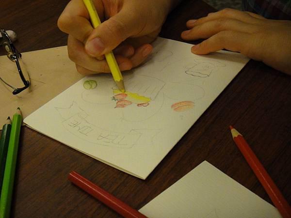 》學生淡彩卡片製作(Amber)-1