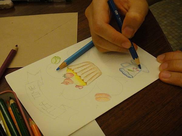 》學生淡彩卡片製作(Amber)-2