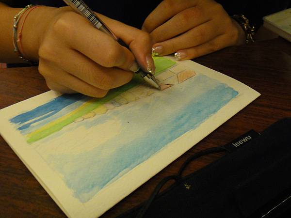 》學生淡彩卡片製作(LaLa)-3