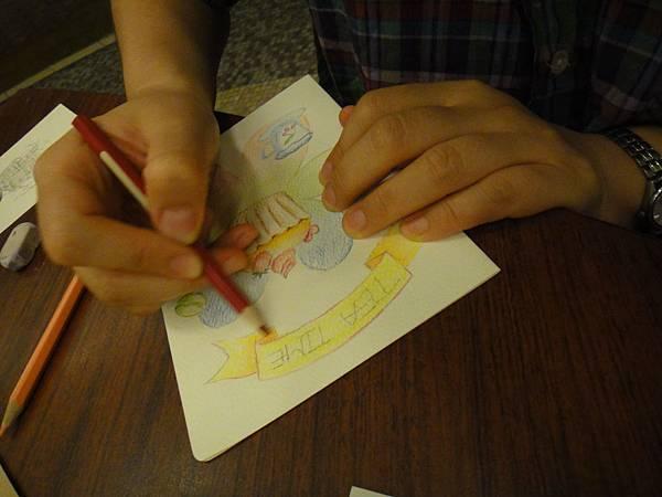 》學生淡彩卡片製作(Amber)-4