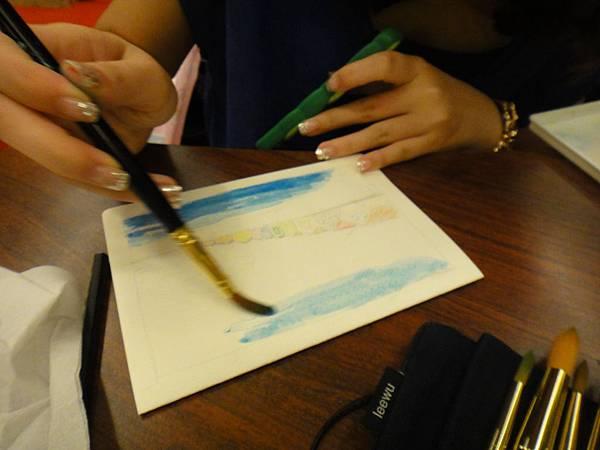 》學生淡彩卡片製作(LaLa)-1